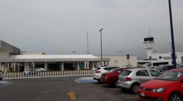 Registra aeropuerto de Villahermosa caída del 37.7% en el tráfico de pasajeros en el primer mes de 2021