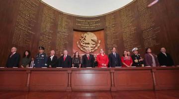 Conmemoran en Querétaro el 103 aniversario de la promulgación de la Constitución Mexicana