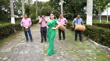 Jalpa nombra a Karen Mariely como su representante en Feria Tabasco 2020