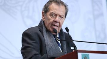 """Ramírez Cuéllar """"llegó a la presidencia de Morena para quedarse o por lo menos para quedarse un rato"""": Muñoz Ledo"""