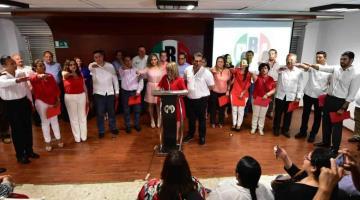 Presenta PRI-Tabasco a nuevos integrantes del CDE