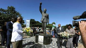 Conmemora Sudáfrica 30 años de liberación de Nelson Mandela