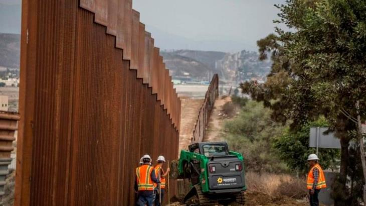 Destina el Pentágono 3 mil 800 mdd para la construcción del muro que se levanta entre EU y México