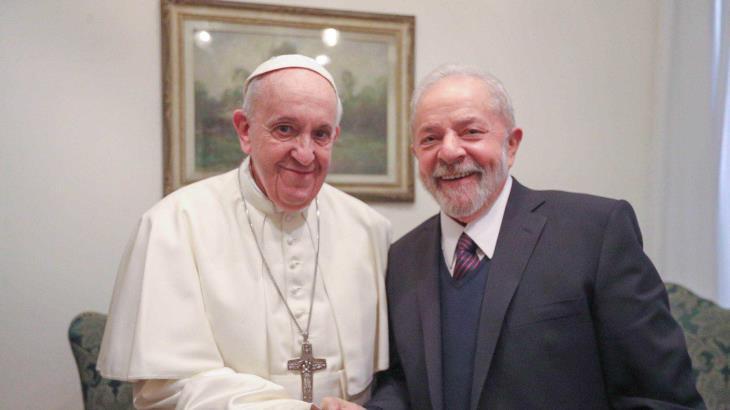 Recibe el Papa Francisco a Lula da Silva en el Vaticano
