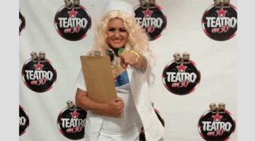 Tabasqueña en Teatro en Corto de Lola Cortés en la CDMX