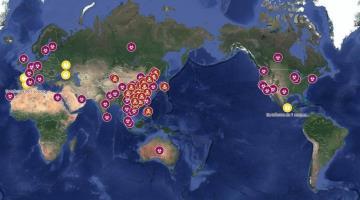 Reporta OMS 1,380 muertos por COVID-19