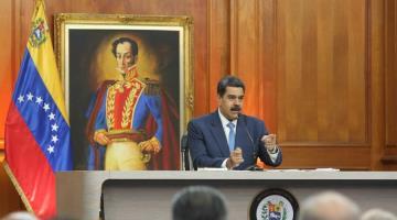 Advierte Nicolás Maduro que arrestará a Juan Guaidó por los delitos que ha cometido