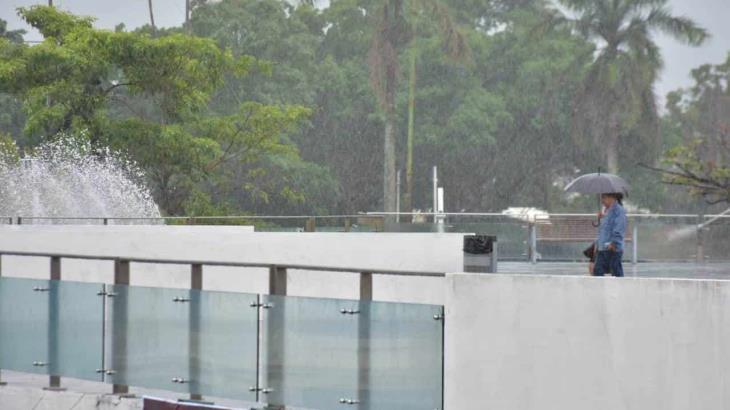 Lluvias se estacionarán en la entidad durante las próximas 48 horas: Conagua
