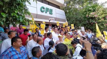 Reactiva PRD resistencia civil en Tabasco