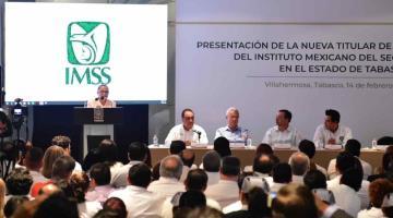 Asume Rosa Herlinda Madrigal, como nueva representante del IMSS en Tabasco