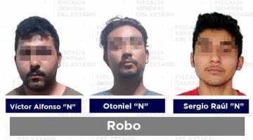 Cinco detenidos por violación y robo, entre otros delitos, reporta la FGE