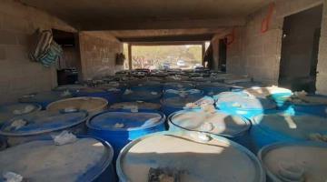 Se enfrentan presuntos huachicoleros y elementos de seguridad de Pemex en Cuautepec de Hinojosa en Hidalgo