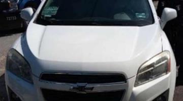 Delincuentes abandonan auto y huyen en la Ranchería González, tras ser perseguidos por la Policía