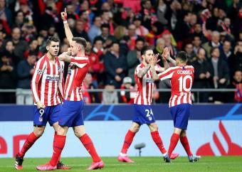 Atlético y Dortmund, con un pie en Cuartos de Champions League