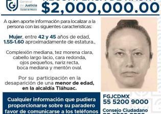 Identifican a la presunta responsable de la desaparición de Fátima
