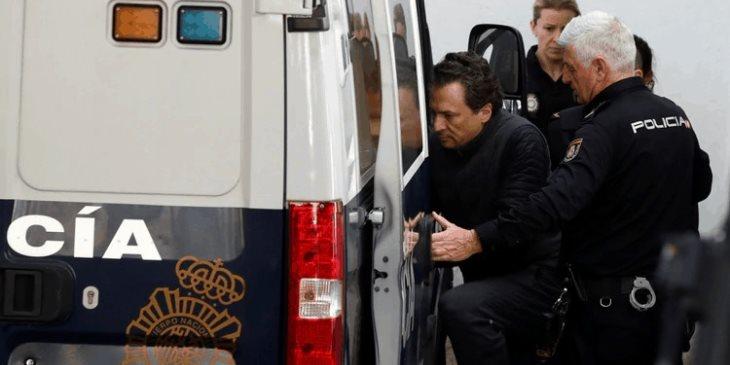 Trasladarán a Emilio Lozoya a cárcel de Madrid, para que esté más cerca de la Audiencia Nacional