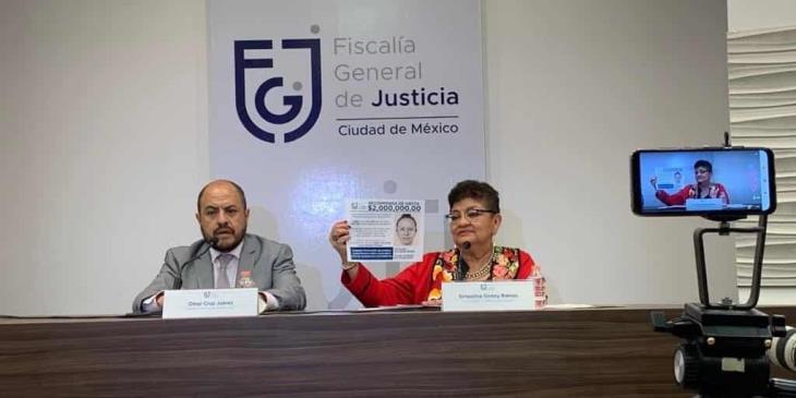 Fátima reconoció a la mujer que se la llevó de su escuela: Fiscalía de la Ciudad de México