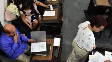 Evita Dolores Gutiérrez pronunciarse ante señalamientos de Agustín Silva que la acusa de violencia de género