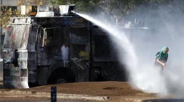 Denuncia Derechos Humanos de Chile, que hay más de 10 mil personas detenidas en 4 meses de protesta