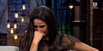 Paola Rojas llora al recordar los ataques que sufrió por culpa de su ex pareja