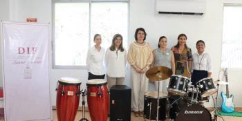 """Arranca DIF Tabasco proyecto """"Música para Todos"""", en Centros VIDHA y CRIAT"""