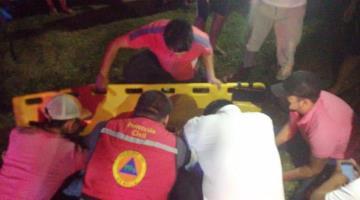 Reportan grave a motociclista atropellado en la Villahermosa-Frontera
