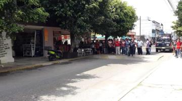 Ejecutan a hombre en tienda de celulares en la Guadalupe Borja