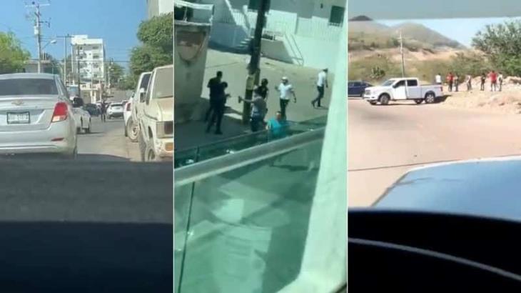 Se registra balacera en Culiacán Sinaloa