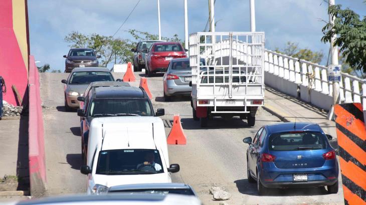 Volverán a cerrar puente Carrizal IV... durante dos noches