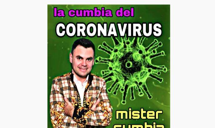 Llega la cumbia del coronavirus con consejos de como prevenirlo