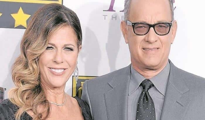 Tom Hanks y su esposa Rita Wilson, dieron positivo a coronavirus