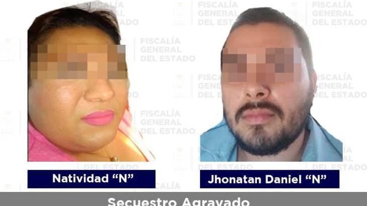 Aseguran a dos sujetos acusados de secuestro agravado en Tabasco