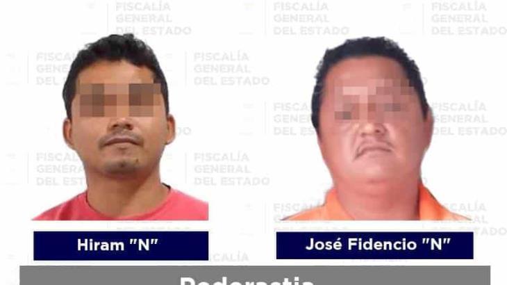 Reporta la FGE cuatro detenidos por diversos delitos