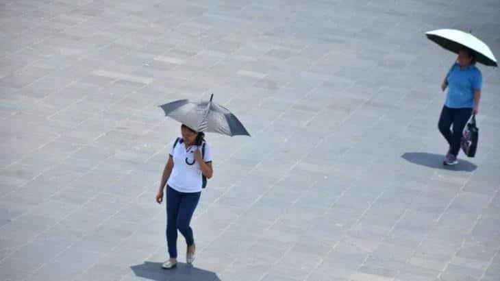 Pronostica Conagua ambiente caluroso para Tabasco, pero con posibilidad de chubascos aislados