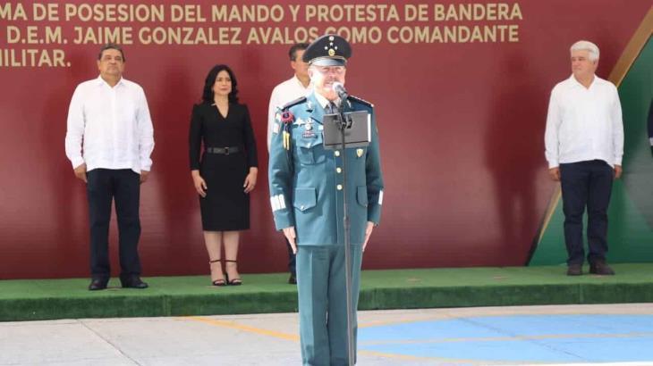Toman protesta al nuevo comandante de la VII región militar en Chiapas