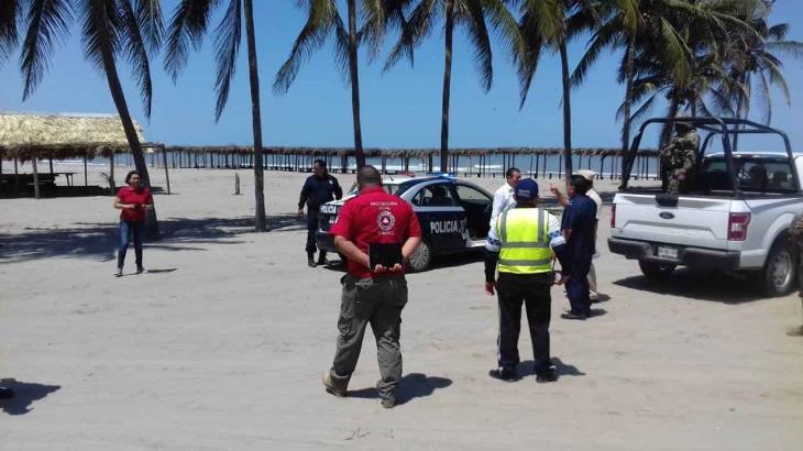 Ordenan en Tabasco... cierre temporal de las playas