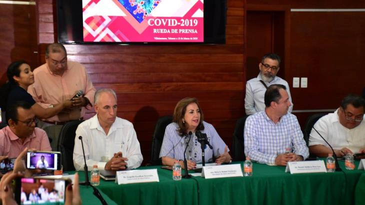 Confirma SSa Tabasco primer caso de coronavirus