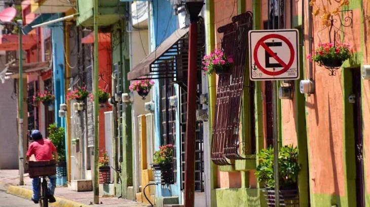 Con hermosas petunias florece la calle Iguala de Villahermosa