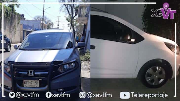 Recuperan dos vehículos en Villahermosa
