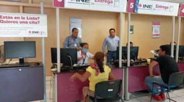 Determina INE el cierre temporal de Módulos de Atención Ciudadana en Tabasco