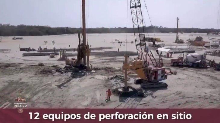 Presentan avances en la construcción de la Refinería de Dos Bocas