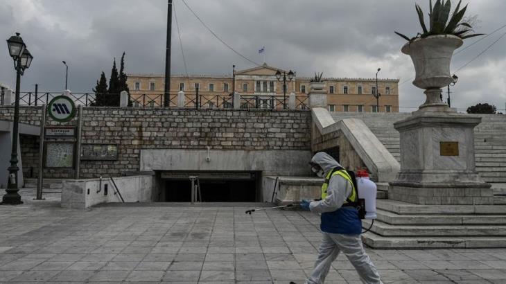 Grecia entra en confinamiento general por Covid-19