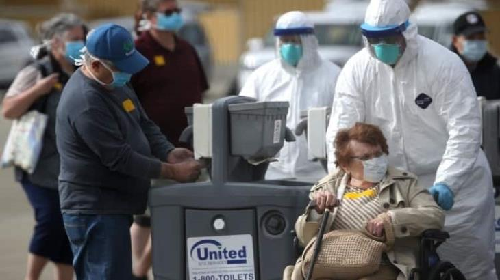 Advierte OMS que EE.UU., podría ser nuevo epicentro de la pandemia