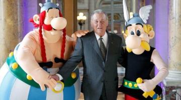 Muere Albert Uderzo, uno de los creadores de Astérix, a los 92 años