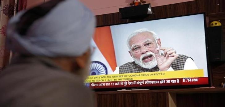 Ante Covid-19 India decreta confinamiento total de sus habitantes durante 3 semanas