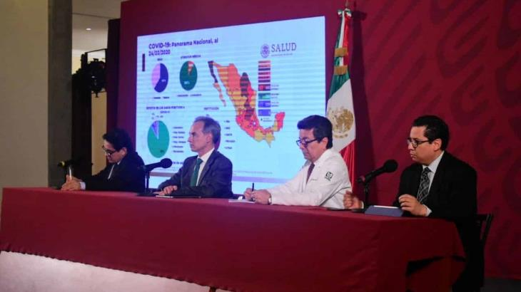 México suma 5 muertos por Covid-19; Salud federal agradece a los gobiernos estatales por las medidas tomadas