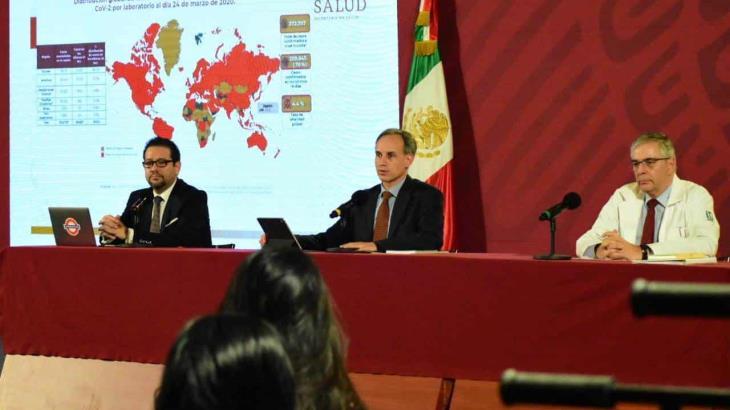 Suspende Gobierno federal sus actividades por coronavirus