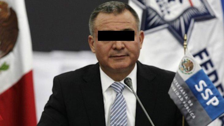 Por temor al Covid-19 García Luna pide a juez libertad bajo fianza
