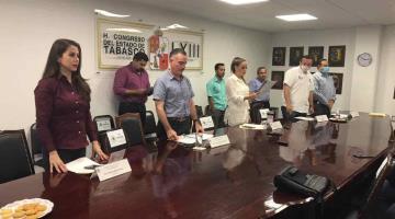 Aprueban en comisiones del Congreso Tabasqueño elevar a rango constitucional programas federales