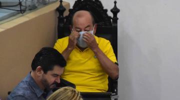Ventilan problemas de salud del perredista Agustín Silva; ayer no acudió a sesionar
